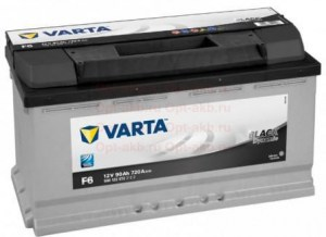 Varta BlackDynamic 6СТ-90 R+ (590 122 072)